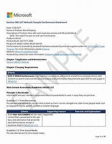 Word Document Sample Microsoft Word Sample Report