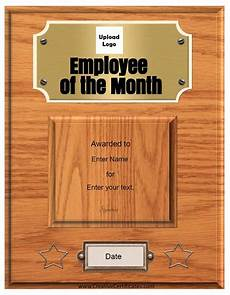 Employee Of The Month Award Free Custom Employee Of The Month Certificate