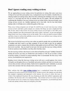 Essay About Reading Essay About Reading