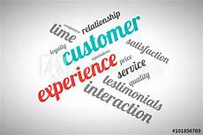 Another Word For Customer Experience Quot Customer Experience Word Cloud Quot Stock Image And Royalty