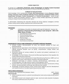Sample Resume For Lab Assistant Chemistry Lab Technician Resume Luxury Lab Technician