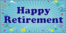 Retirement Banners Retirement Banners To Celebrate Varied Sizes Customize