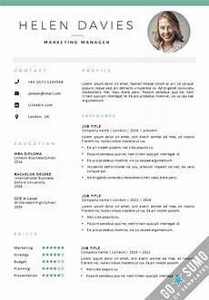 Cv Templates Cv Template London Cv Cover Letter Template In Word