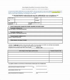 Corrective Action Plan Form Corrective Action Plan Template 22 Free Word Excel