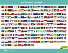Flags Of The World Chart Printable National Flag Chart