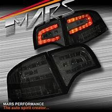 Audi A4 Smoked Lights Smoked Led Lights Taillight For Audi A4 S4 Rs4 S Line