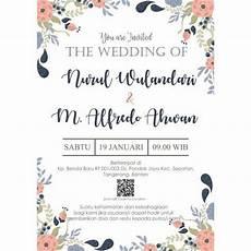 contoh surat undangan pernikahan turut mengundang