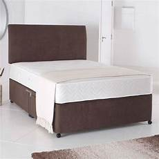 5ft king size divan bed base only in chocolate brown