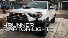 Raptor Lights 4runner Raptor Lights Grille Lights On A 2016 Toyota 4runner