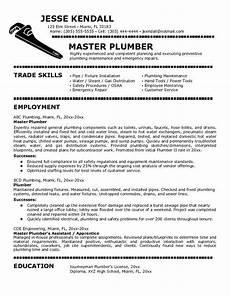 Plumbing Resume Samples Plumbers Jobs Cover Letter For Plumber Job Job Cover