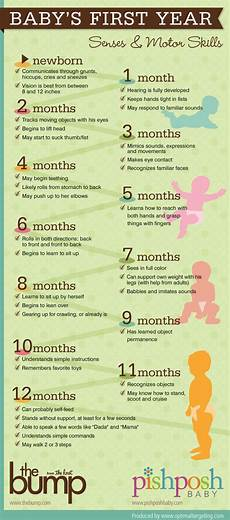 12 Month Old Milestones Chart A Quick Guide To Baby S First Year Milestones Baby