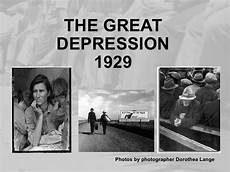 Causes Of The Great Depression 1929 Ppt