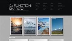 Gallery Template X9 Function Shadow Blogger Template Btemplates