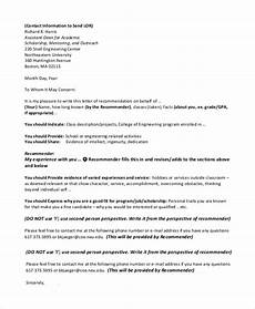 sample letter of recommendation format free 8 sample recommendation letter formats in pdf ms word