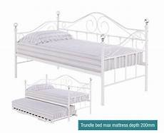 day beds lpd florence metal day bed click 4 beds