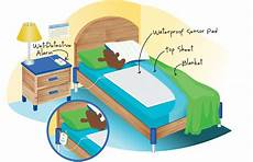 bedwetting bed pad and alarm use the detective