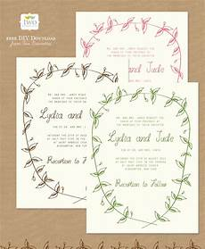 Invitation Free Download 10 Free Printable Wedding Invitations Diy Wedding