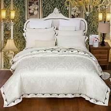 white luxury bedding set size cotton duvet cover