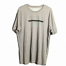 hurley sleeve shirts for mic grey hurley sleeve polyester graphic t shirt mens