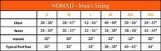 Camo Pants Size Chart Nomad Dunn Primaloft Vest Camo Hunting Vest Black Ovis