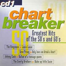 Chart Breaker Chart Breaker Greatest Hits Of The 50 S And 60 S Cd 1
