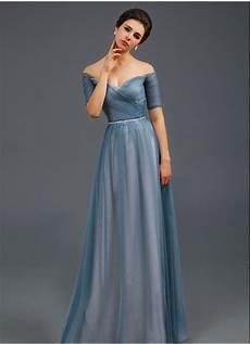 dressy clothes for light blue the shoulder evening dress a line formal