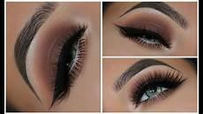 makeup eyeshadow a simple brown smokey eyeshadow look amys makeup box