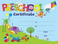 Preschool Graduation Certificates Preschool Certificate