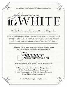 All White Party Invitations Templates White Party Invitations