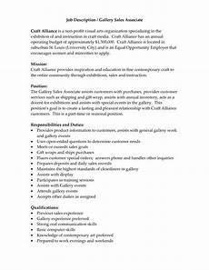 Sales Associate Responsibilities Resume Sales Associate Job Descriptions For Resume