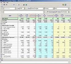 My Budget Planner Family Budget Software