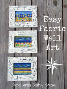 fabric wall with crackle finish frames