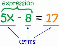 Terms In Algebra Term Math Definitions Letter T