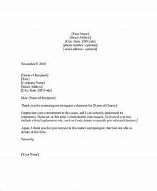Decline Letter Free 11 Sample Sponsorship Request Letter Templates In