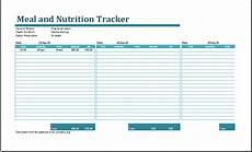Meal Tracking Worksheet Calorie Amortization Schedule With Nutrition Tracker