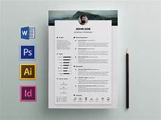 Resume Templates For Indesign Free Elegant Resume Cv Template For Any Job Opportunity
