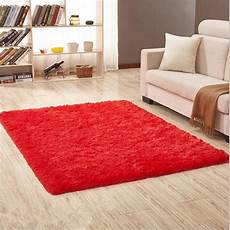 large size fluffy rugs anti skiding shaggy faux fur area