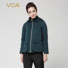 heavy winter coats for plus size voa 2017 winter green sleeve heavy coat