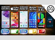 Samsung S20 Ultra vs iPhone 11 Pro Max / Note 10 Plus