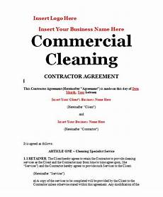 Commercial Cleaning Contract Sample Cleaning Contract Sample Contracts Contract Templates