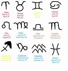 Date Of Birth Zodiac Chart Starsign Zodiac Dates Chart By Zigazav On Deviantart