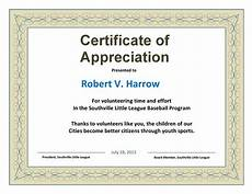 Certificate Of Appreciation Examples 30 Free Certificate Of Appreciation Templates And Letters