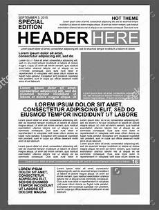 Office Newspaper Template 50 Printable Newspaper Templates Free Amp Premium Templates