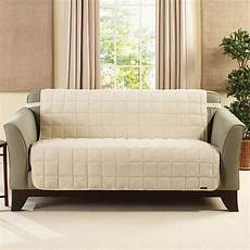 Sure Fit Deluxe Sofa Cover 3d Image by Sure Fit Deluxe Comfort Armless Loveseat Slipcover