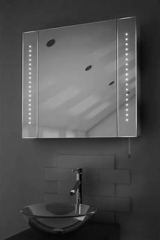 Bathroom Mirror Cabinet With Battery Lights Regal Led Illuminated Battery Bathroom Mirror Cabinet With