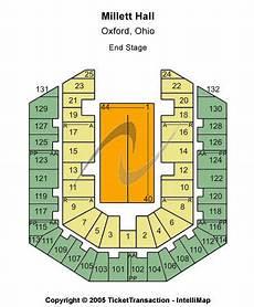 John M Greene Hall Seating Chart Millett Hall Seating Chart Millett Hall Event Tickets