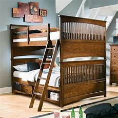 bunk beds with stairs for big family