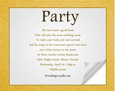 Business Party Invitation Wording Party Invitation Wording Wordings And Messages