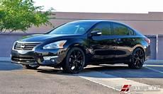 2013 Nissan Altima Rims by 20 215 8 5 Kmc Wishbone Satin Black On 2013 Nissan Altima W
