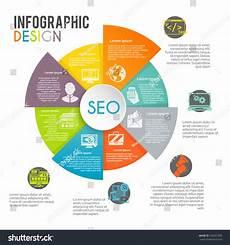 Seo Chart Seo Internet Marketing Infographics Set With Web Search